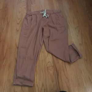 Old Navy Pink Ankle Pants- Size 10